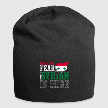 Syria Flag Country Patriot Middle East - Jersey Beanie
