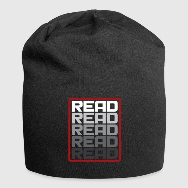 Read Read Read Read Gift Saying - Jersey Beanie