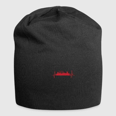 My heart beats like Nottingham - Jersey Beanie