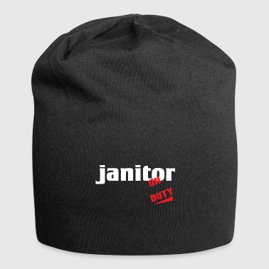 Janitor - Janitor - Repair and clean - Jersey Beanie
