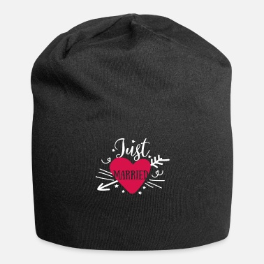 Just Just Married - Just Married Wedding - Jersey-Beanie