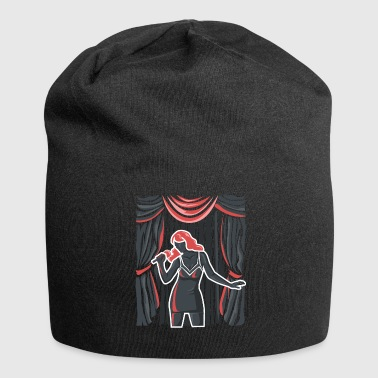 Singer on stage - Jersey Beanie