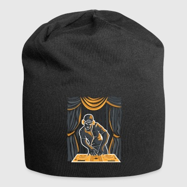 DJ on a stage - Jersey Beanie