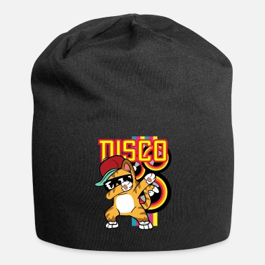 Hip Dabbing Dab Cat Rapper Hip Hop Hip Hop Disco - Beanie