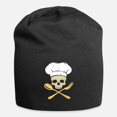 Cuoco Cuoco cuoco cuoco regalo cuoco chef - Beanie in jersey