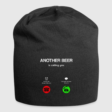 Mobile Phone Beer call mobile phone - Jersey Beanie