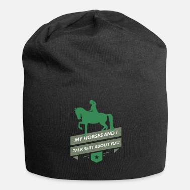Paardensport Paardensport Paardensport Paardensport Grappige Gift - Jersey-Beanie