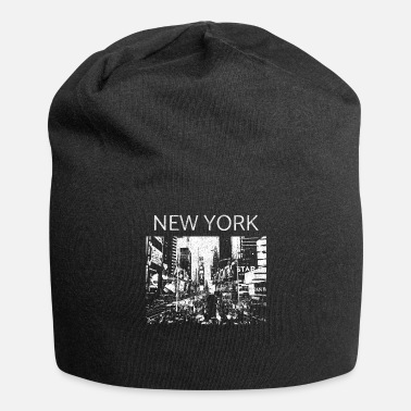Central Park New York Times Square Metropolis cadeau Manhattan - Bonnet en jersey