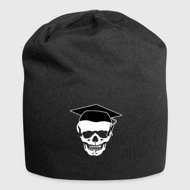 Spoof Skull too long at school - Jersey Beanie