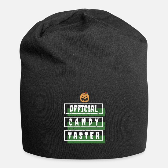 Witches Broom Caps & Hats - Official sweets gourmet / tester - Beanie black