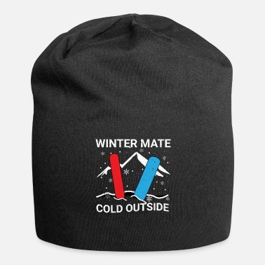 Winter Vacation Snowboarder on winter vacation - Beanie