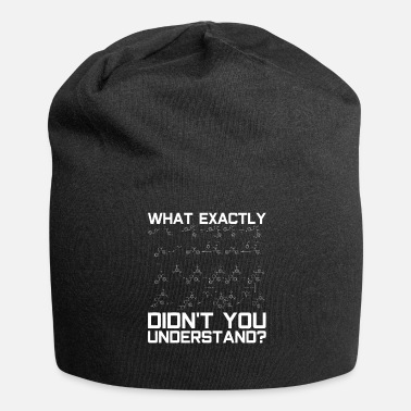 Chemical Chemical formulas - Jersey Beanie
