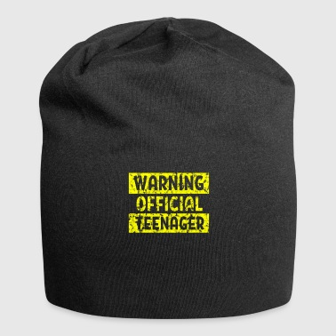 Teenager Teenage Warning Officiellement un 13ème anniversaire - Bonnet en jersey
