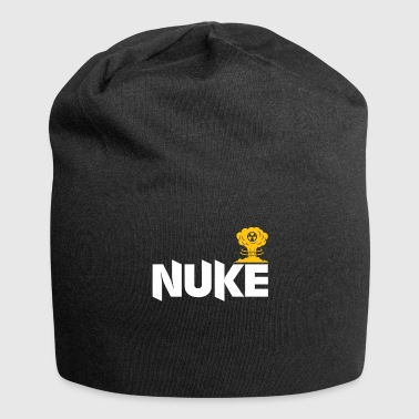 Atomic Bomb Atomic bomb gift physicist atom - Jersey Beanie