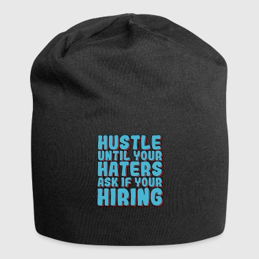 Haters Gonna Hate Haters Gonna Hate Tshirt Diseño Contratación de enemigos - Gorro holgado de tela de jersey