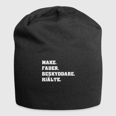 MAKE FADER BESKYDDARE HJÄLTE FARS DAY FATHER'S DAY - Jersey Beanie