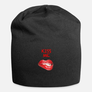 Sexy Kiss Me Sexy Lippen Red Lips - Jersey-Beanie