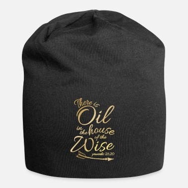 There Is Oil - Funny Religious Bible Essential - Beanie