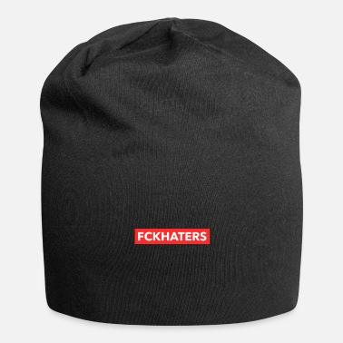 Statement Fuck Haters Trendy Statement - Beanie