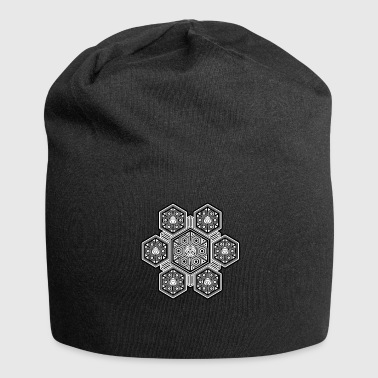Tatoo LSD T-shirt - Sacred Geometry Pattern - Goa Party - Jersey-Beanie