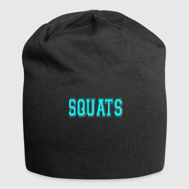 Squat Squats - Jersey-Beanie