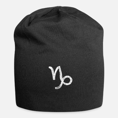 Horoscope Astrology zodiac capricorn horoscope faith - Jersey Beanie