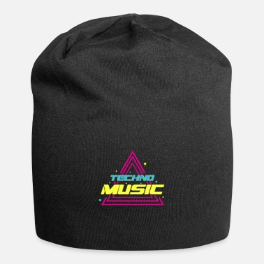Techno Music TECHNO MUSIC - Jersey-Beanie