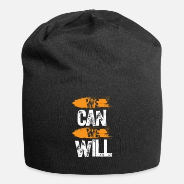 Hustle We Can We Will - Jersey-Beanie