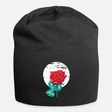 Roos rose - Jersey-Beanie