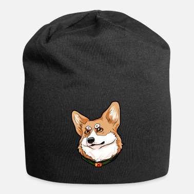 Welsh Pembroke Welsh Corgi Welsh dog Welsh - Jersey Beanie