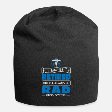 Straling Gepensioneerde radiologie Tech Always Rad - Beanie