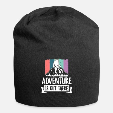 Vaderdag Adventure Is There There TShirt - Outdoor Hiking - Jersey-Beanie