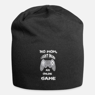 Online Gaming No MOM, Online GAME - Jersey Beanie
