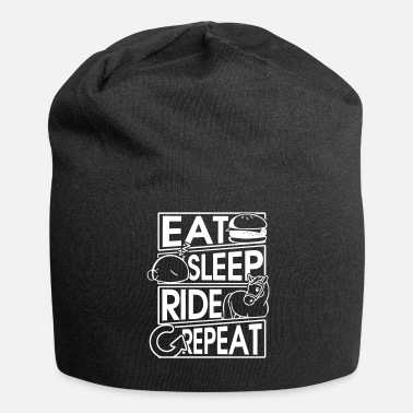 Equitazione Eat Sleep Ride Repeat Horse Gift Gift - Beanie in jersey