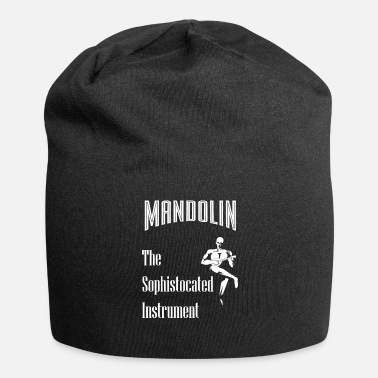 Mandolin Mandolin The refined instrument Acoustic music - Jersey Beanie