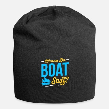 Boating Boat Boat Boating Gift - Jersey Beanie