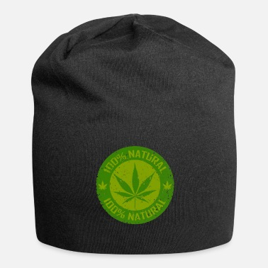 Græs Weed 100% Natural - Jersey-Beanie