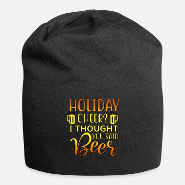 Lettertype Holiday Cheer - Jersey-Beanie
