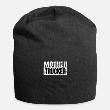 Verkeer De echte Truck Driver - The MOTHER TRUCKER - Jersey-Beanie