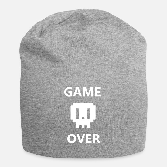Game Over Caps & Mützen - Game Over - Beanie Grau meliert
