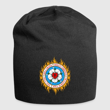 Burning for the ideas of the Reformation - Jersey Beanie