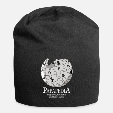 Oracle Papapedia papa l'oracle omniscient drôle père - Bonnet en jersey