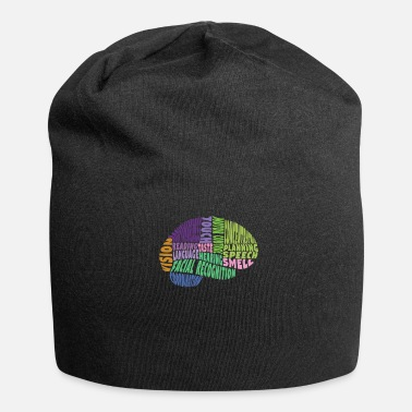 Region The regions of the brain - Beanie