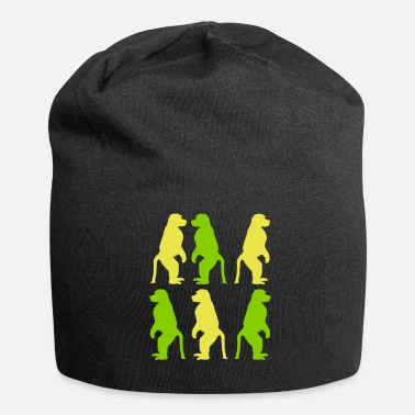 Primate primate monkey group animal - Jersey Beanie