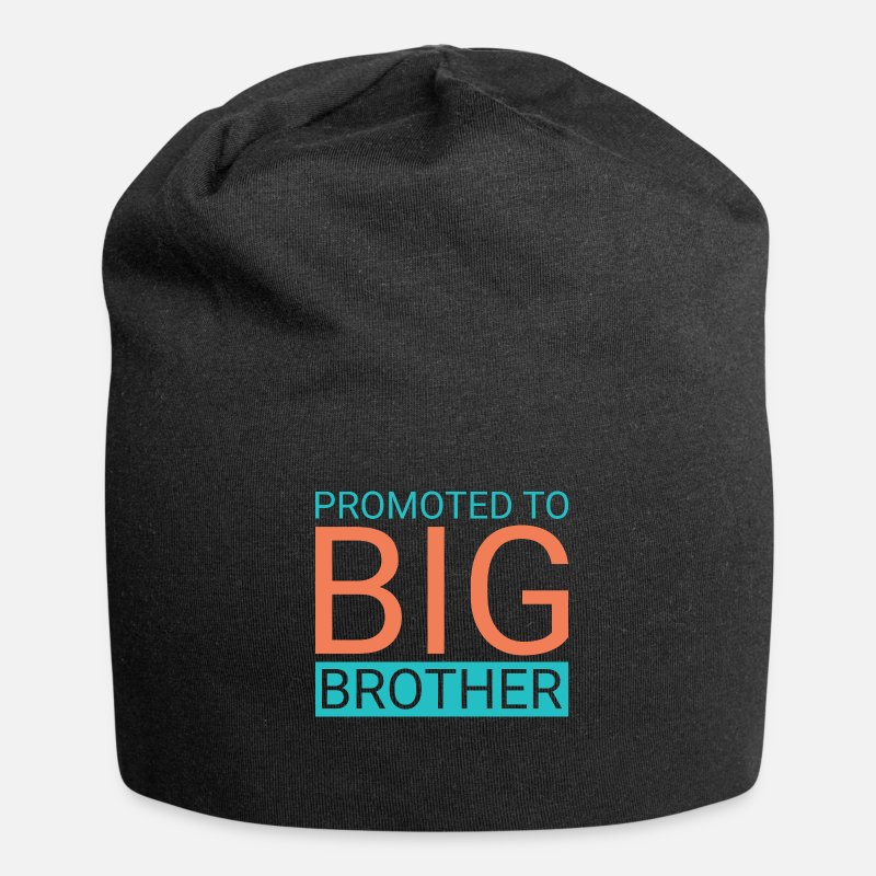 Big Caps & Hats - Promoted to big brother - Beanie black