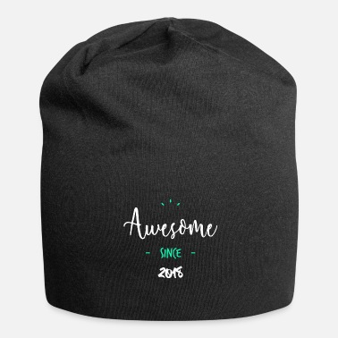 Since Awesome since 2018 - - Beanie in jersey