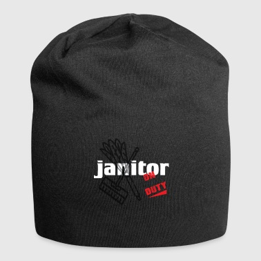 Janitor - Cleaning and Repairing - Janitor - Jersey Beanie