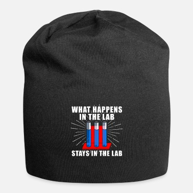 Lab What Happens In The Lab Stays In The Lab - Jersey Beanie