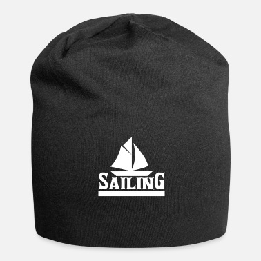 Harbour Sailing | Water sports boat harbor gift - Jersey Beanie