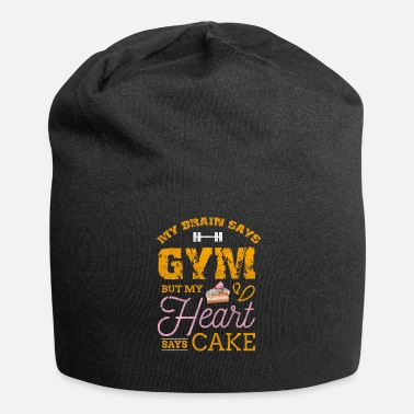 Cupcake Cake Cupcake Baking Bake Pies Pastry Gym Allenamento - Beanie in jersey